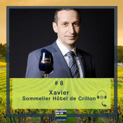 #8 Xavier - Chef Sommelier de l'Hôtel de Crillon cover