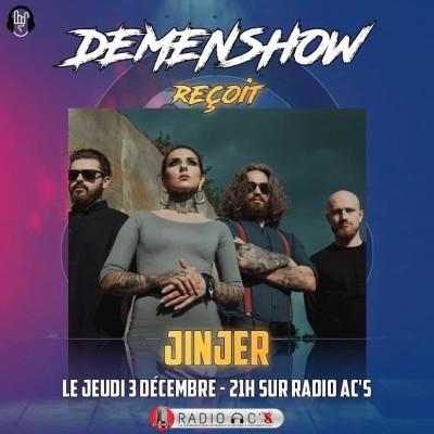 Le Demenshow reçoit JINJER cover