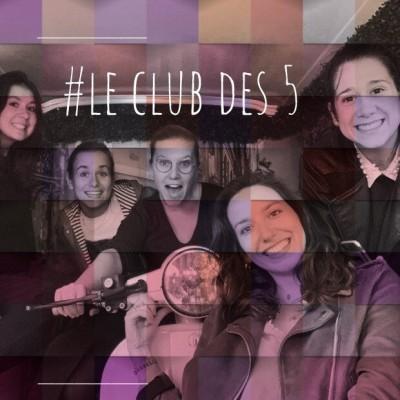 """Amitiés Confinées : 3. Le club des 5 """"En visio, on manque de spontanéité"""" cover"""