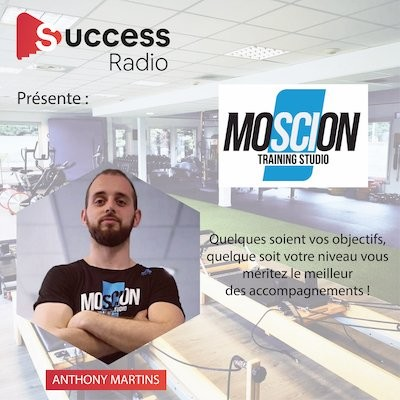 Anthony Martins, Créateur Moscion Training Studio cover