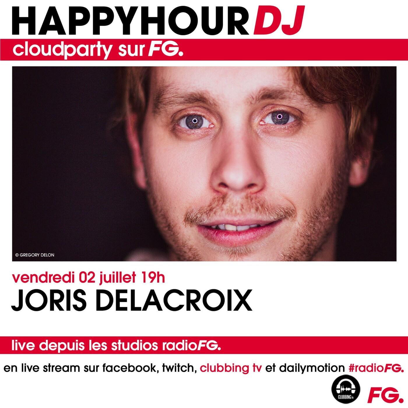HAPPY HOUR DJ : JORIS DELACROIX