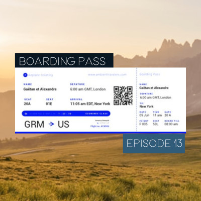 Boarding Pass 013 ✈️ Christian Löffler et Loon cover