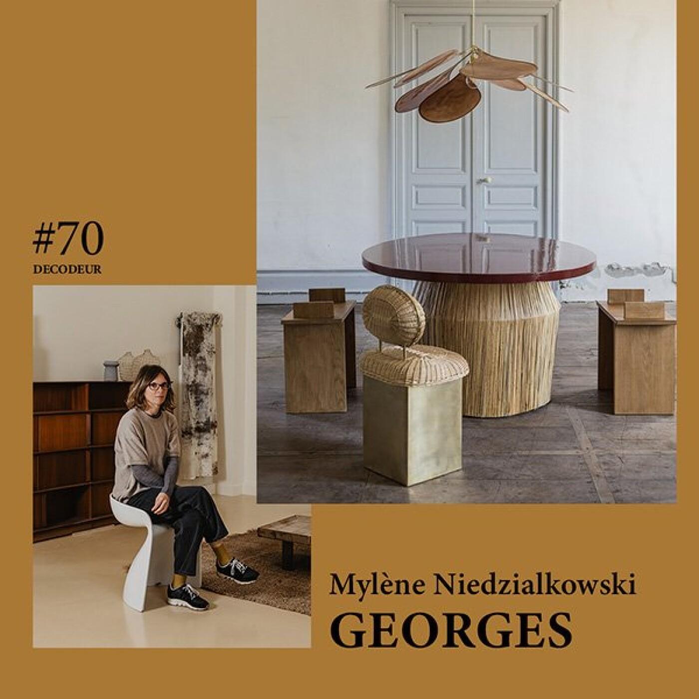 #70 Mylène Niedzialkowski / GEORGES // entre matières et artisanat au Pays Basque
