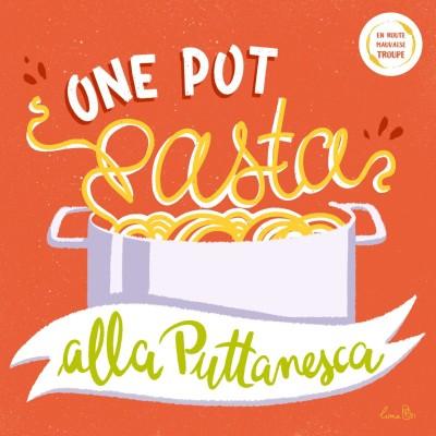 One pot pasta alla puttanesca cover