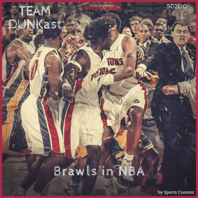 """Les """"Brawls"""" en NBA cover"""