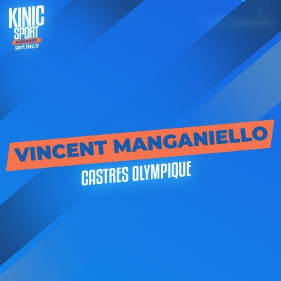 #6 - Vincent Manganiello : Castres Olympique cover