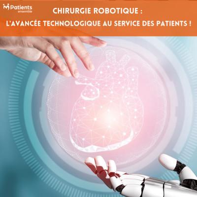 PODCAST 124 - Chirurgie Robotique: l'avancée technologique au service des patients ! cover