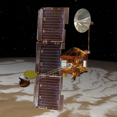 [LDDE] Mars Odyssey - La plus longue mission martienne cover