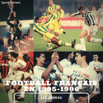 Football français la saison 1995/1996 cover