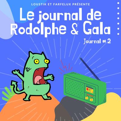 Le Journal de Rodolphe et Gala #2 cover
