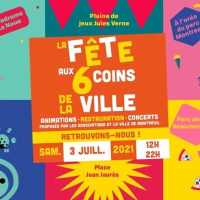 Fête de la ville de Montreuil - 03-07-2021 cover