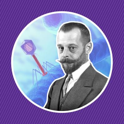Félix d'Hérelle, la découverte des bactériophages cover
