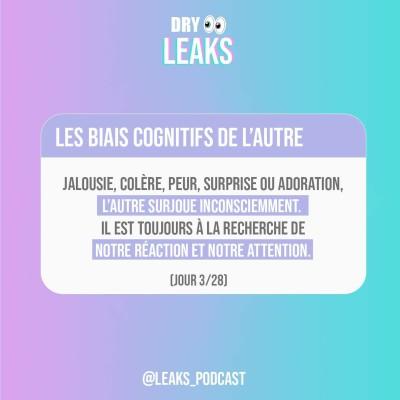 Dry Leaks - Les biais cognitifs de l'autre (3/28) cover