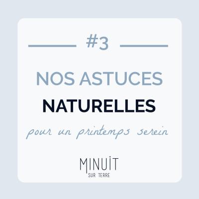 #3 - Nos astuces naturelles pour un printemps serein cover