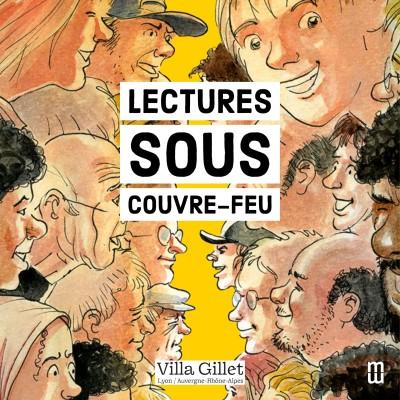 LECTURES SOUS COUVRE-FEU, extraits cover