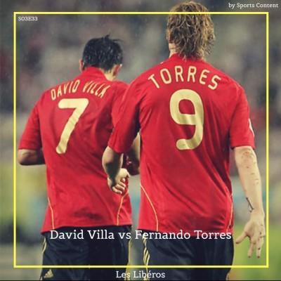 David Villa vs Fernando Torres : duel de goleadors espagnols ! cover