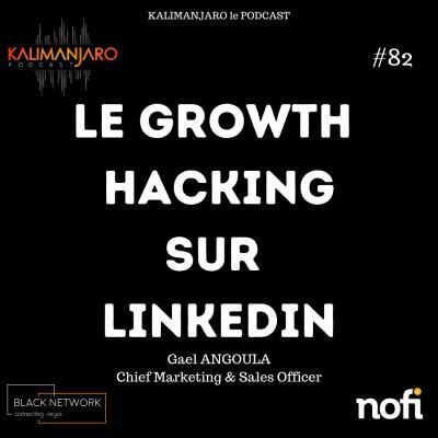 Kalimanjaro épisode #82: Le Growth Hacking via Linkedin avec Gael ANGOULA cover