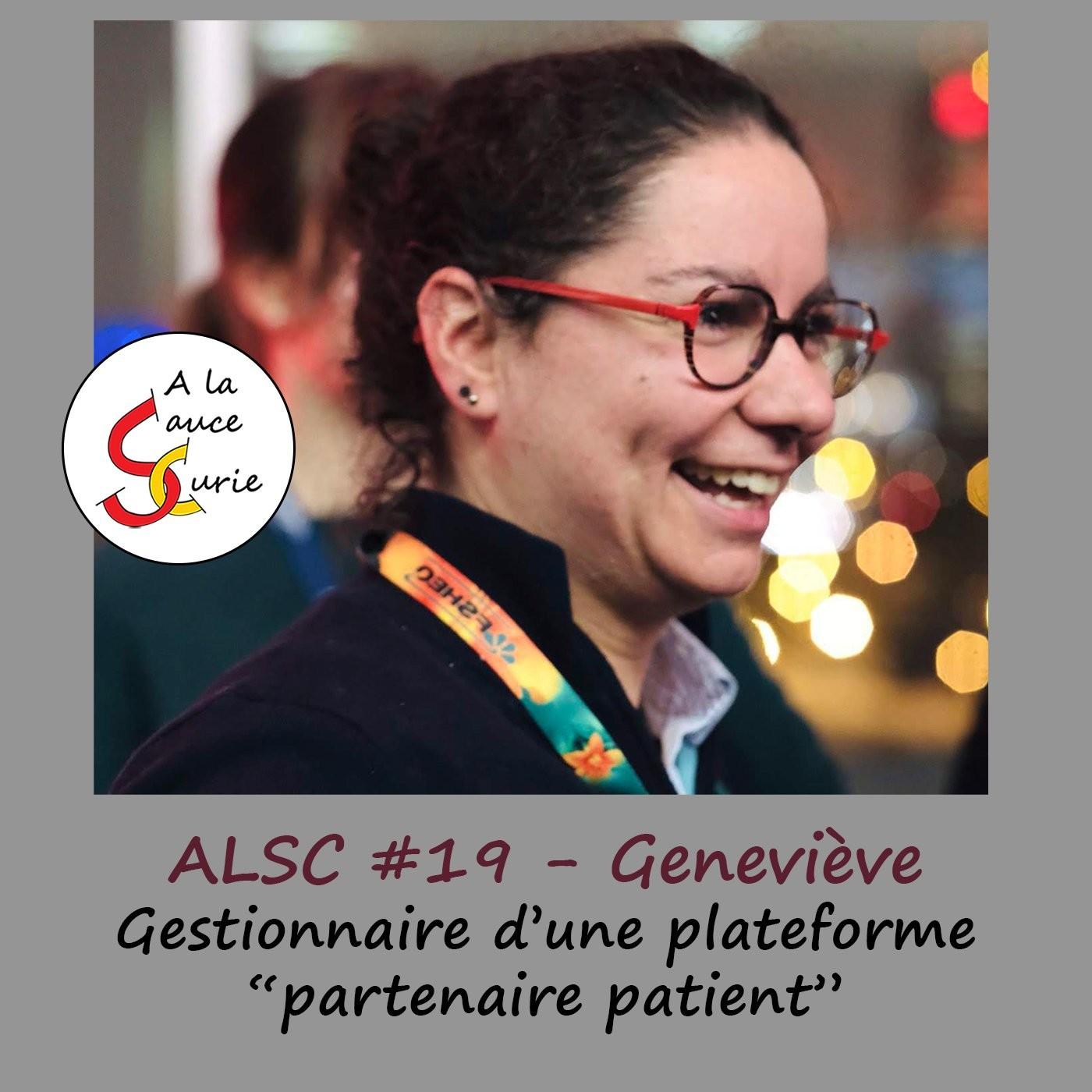 Geneviève - une autre facette de la recherche, la gestion