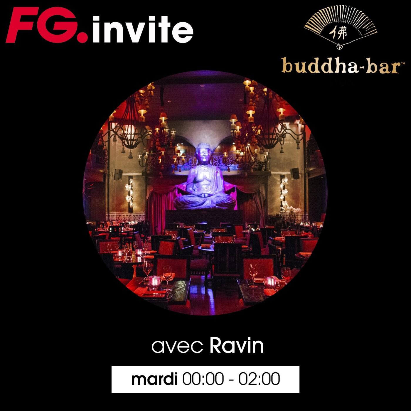 FG INVITE : LE BUDDHA BAR PARIS