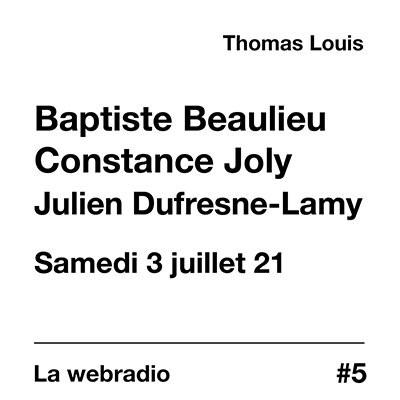 La webradio du festival - samedi 3 juillet 21 cover