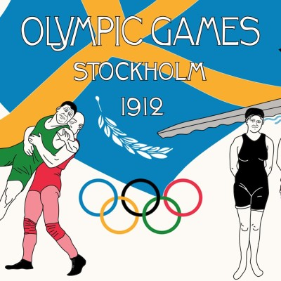 Jeux Olympiques 1912 - Stockholm cover