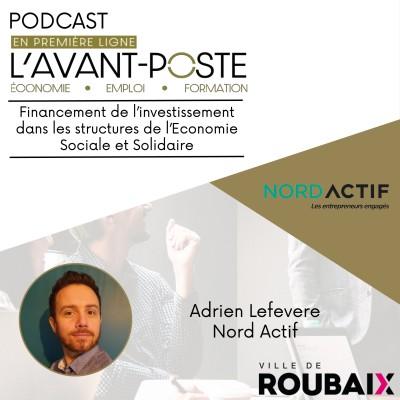 Adrien Lefevere - Nord Actif cover