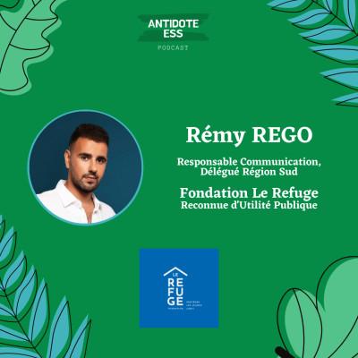 Aider et protéger les jeunes LGBT+ - Rémy Rego - Fondation Le Refuge cover