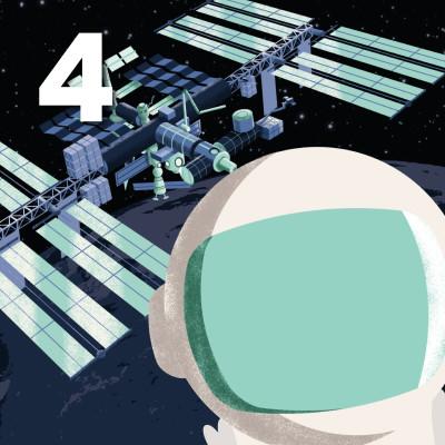 Den internationella rymdstationen - 04. Fönstret mot rymden cover
