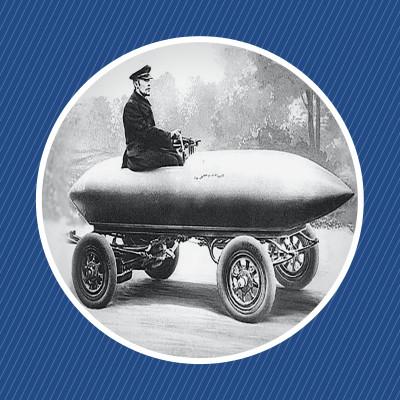 image La Jamais-Contente, une voiture mythique
