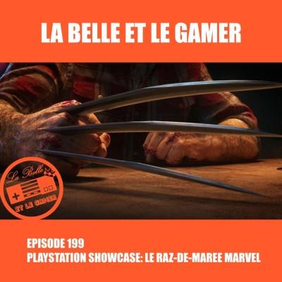 Episode 199: Playstation Showcase: Le raz-de-marée Marvel cover