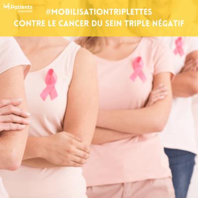 PODCAST 99 - #MobilisationTriplettes : lutter contre le cancer du sein triple négatif cover