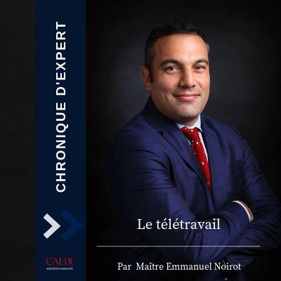 image Emmanuel Noirot, Calix société d'avocats