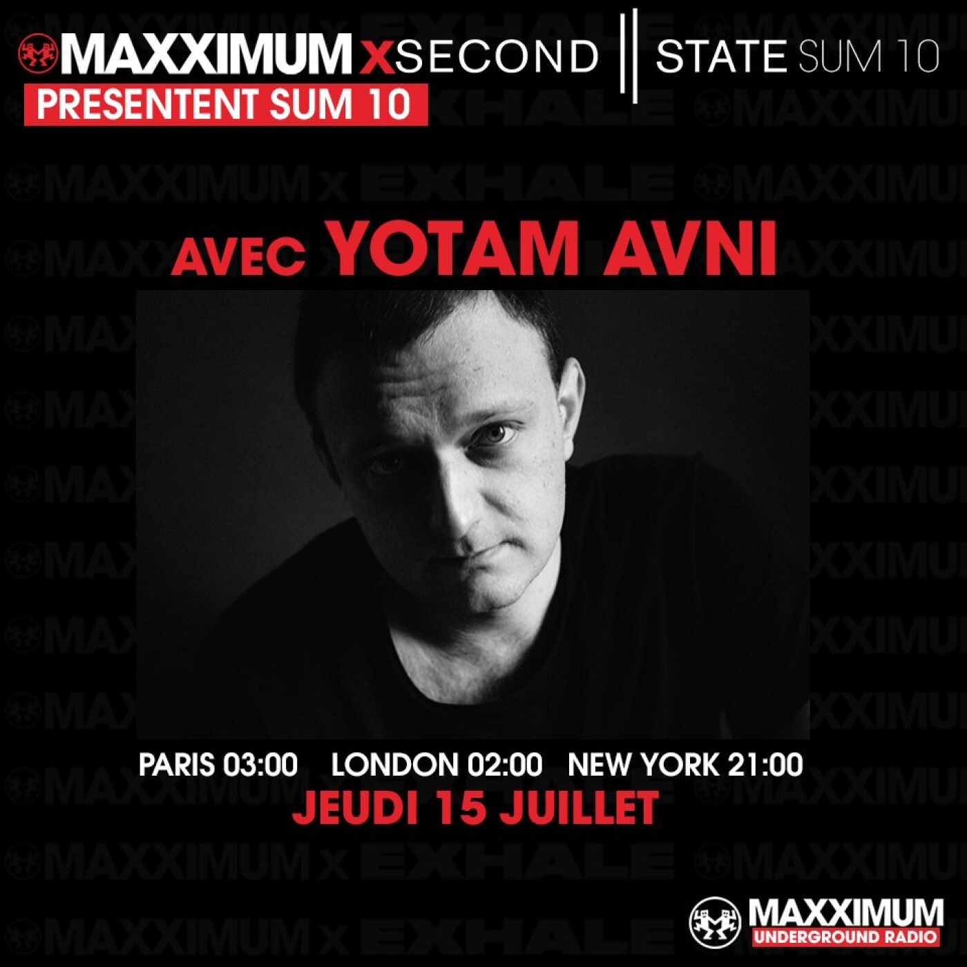 MAXXIMUM INVITE SECOND STATE : YOTAM AVNI