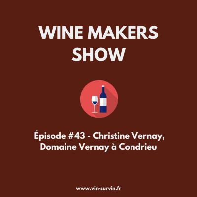 #43 - Christine Vernay, Domaine Vernay à Condrieu cover
