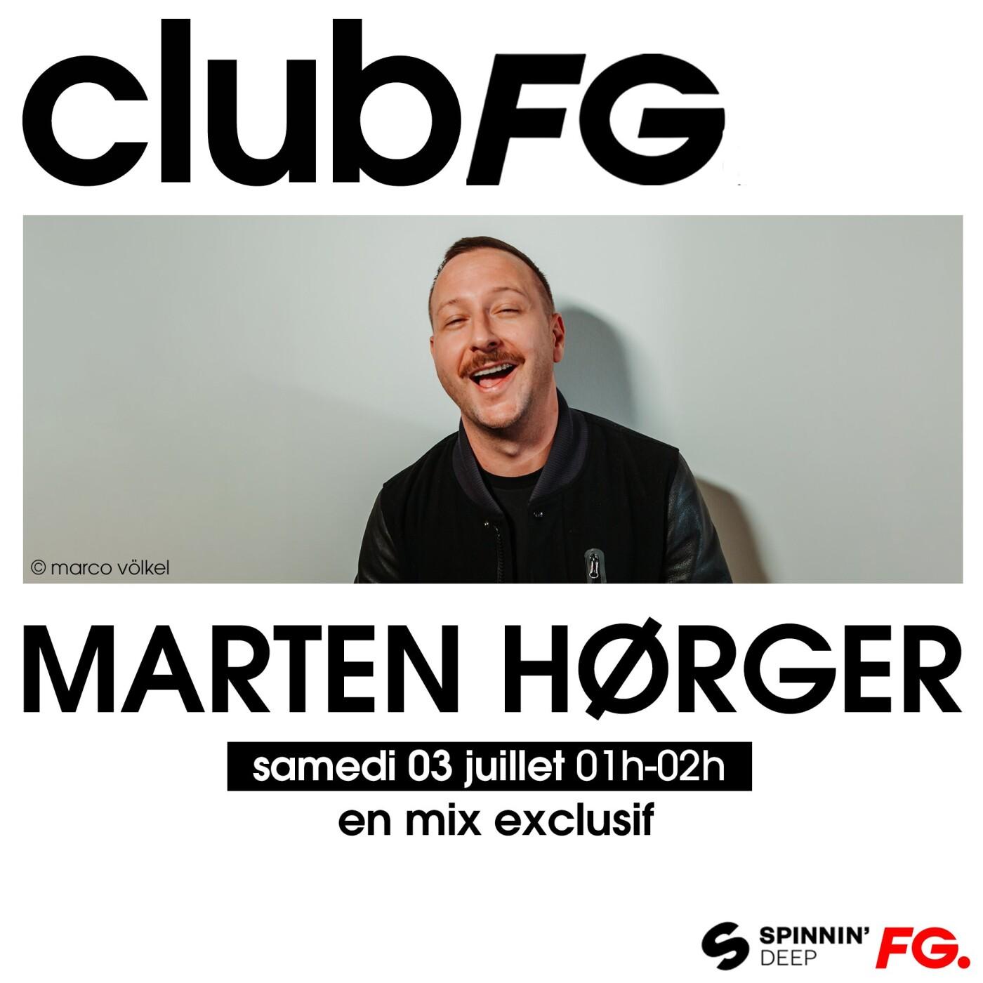 CLUB FG : MARTIN HORGER