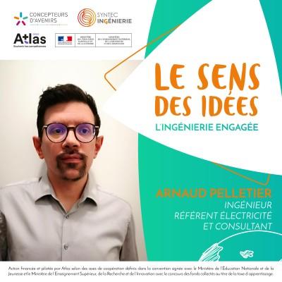 INCLUSION DU HANDICAP DANS L'INGÉNIERIE - Arnaud Pelletier, ingénieur référent électricité et consultant cover