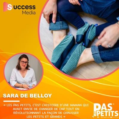 Sara De Belloy - Les Pas Petits cover
