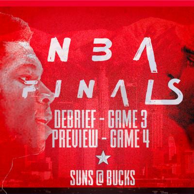 HYPE BASKET USA : FINALE NBA GAME 3 : LES BUCKS ONT ILS LANCER LEUR FINALE ? cover