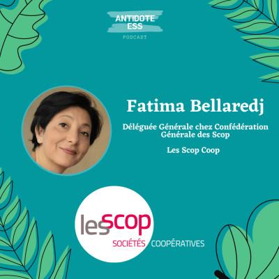 Entreprendre avec les Coopératives - Fatima Bellaredj - Confédération Générale des Scop cover
