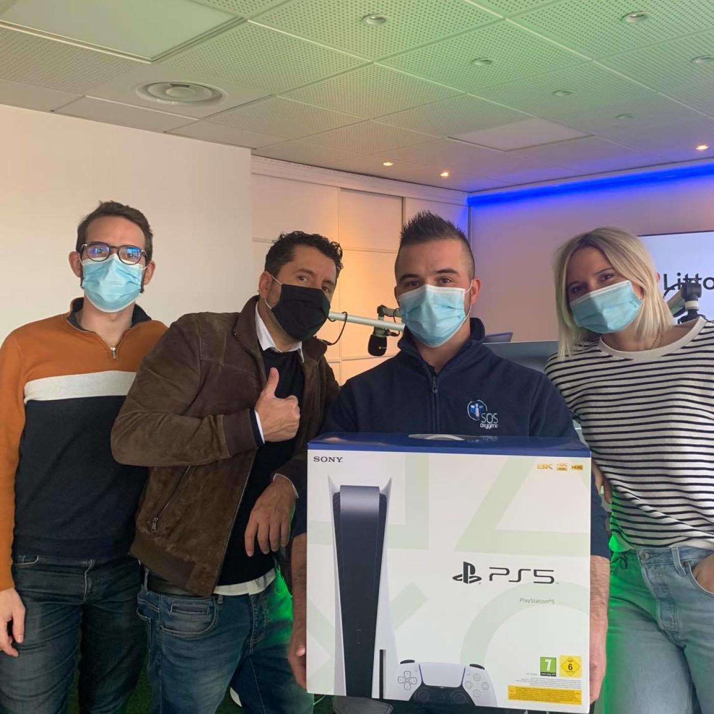 Bravo à Loïc ! Gagnant de la Playstation 5 sur Littoral FM