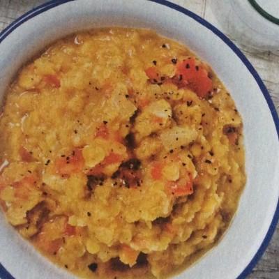 Curry de lentilles corail cover