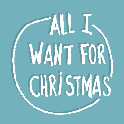 ALL I WANT FOR CHRISTMAS cover