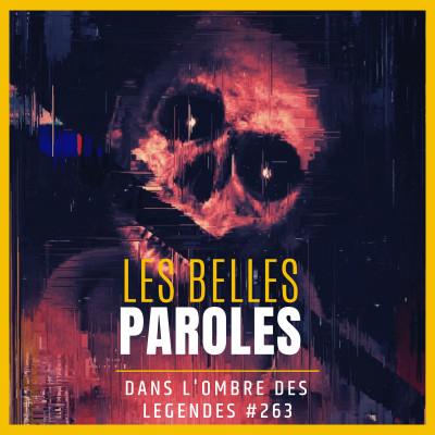 Dans l'ombre des légendes-263 Les belles paroles... cover