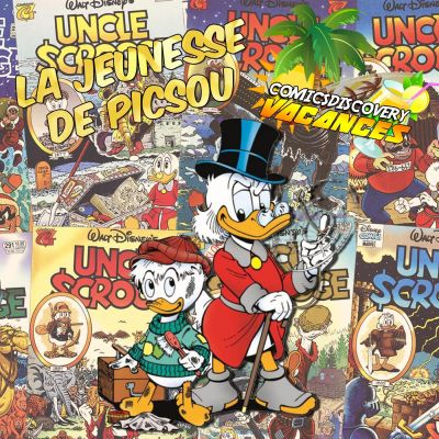 image ComicsDiscovery Vacances 10 : La jeunesse de Picsou