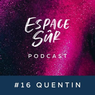 #16 Quentin - Non-binaire andro/demisexuel de 20 ans - Demisexualité,  gynécomastie et politique de demain... cover