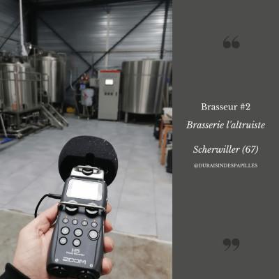 Episode brasseur 2: Brasserie l'altruiste à Scherwiller cover