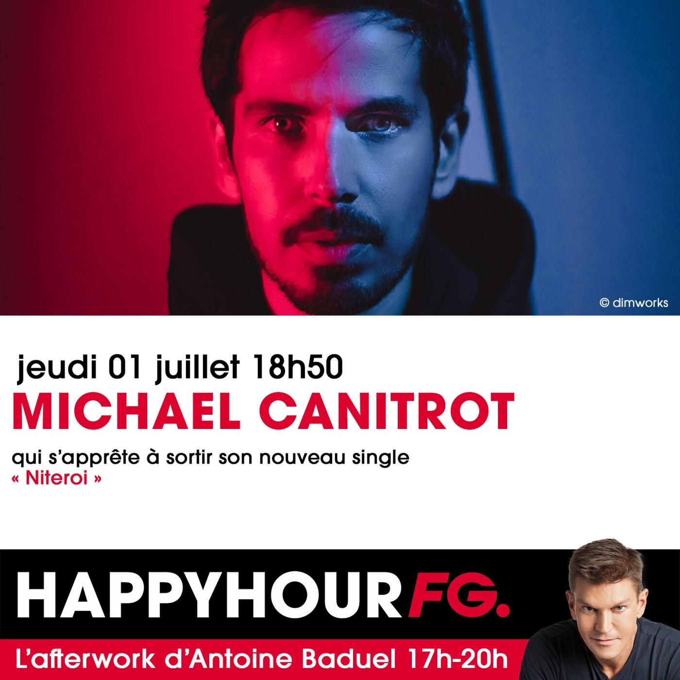 L'INTERVIEW DE MICHAEL CANITR DANS L'HAPPY HOUR FG
