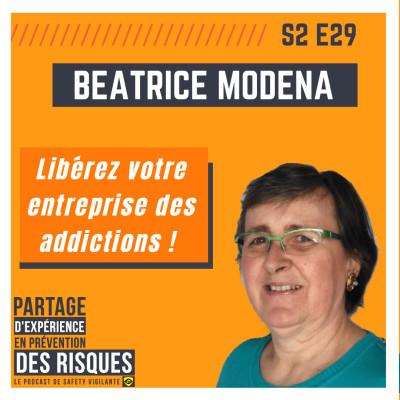 S2E29 - Béatrice Modena - Libérez votre entreprise des addictions cover