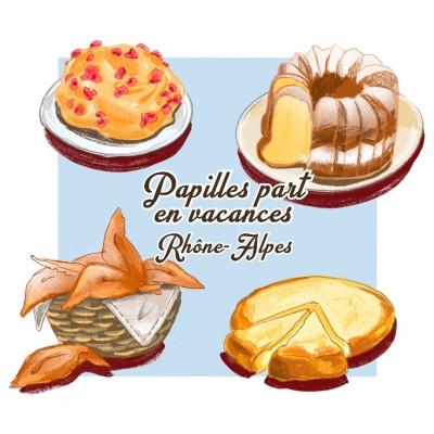Papilles Part en Vacances #7 - Le Rhône-Alpes cover