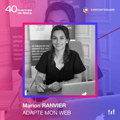 Marion Ranvier - Adapte mon web  : l'accessibilité numérique ne doit pas être un handicap de plus cover